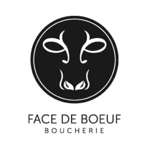 Logo boucherie Face de boeuf