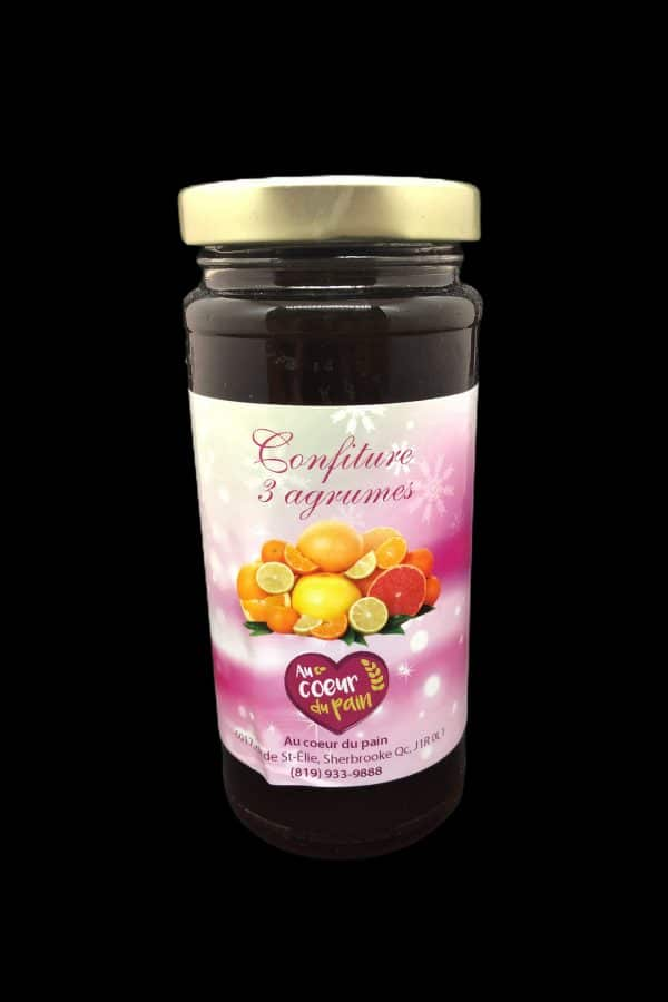 confiture 3 agrumes