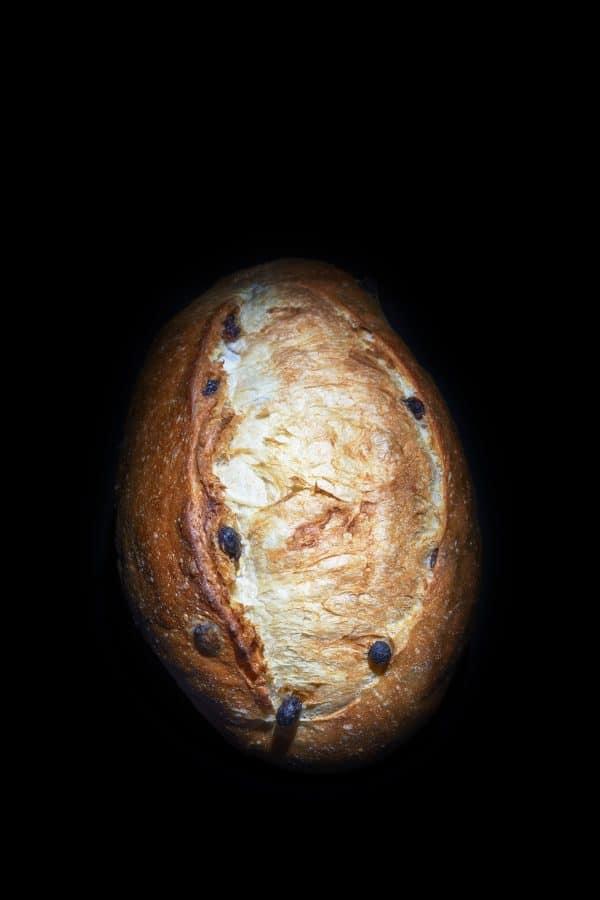 pain belge aux raisins